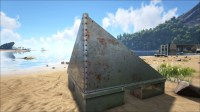 Sloped Metal Wall Right - Official ARK: Survival Evolved Wiki