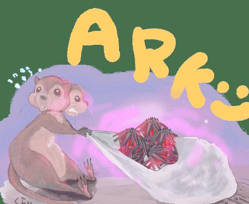 【ARK】ラグナロクのボス攻略 トランスミッター解放!β、α