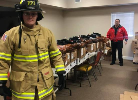Christmas came early at Arkadelphia Fire. Our firefighters are now all fitted with new turnout gear replacing our outdated gear. This helps insure the safety of each firefighter. Funded by Move Arkadelphia Forward 2019. A huge thanks to the Citizens of Arkadelphia for making this department better for our community.