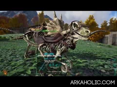ark survival evolved skins