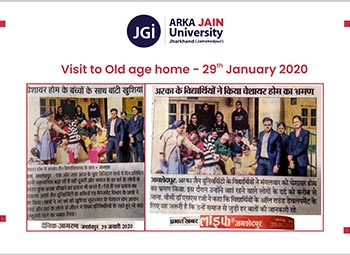 visit to old age home 350x255