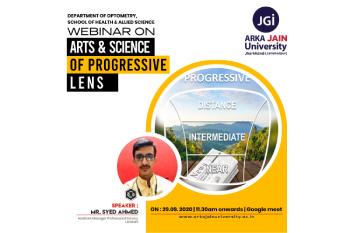 Webinar On Arts & Science Of Progressive Lens-350x233