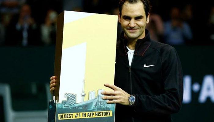 Roger Federer rekordowym liderem rankingu ATP