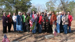 DAR ladies of the Tates Bluff Chapter