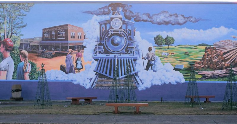 Prescott Mural in downtown
