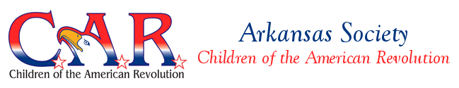 Arkansas Society Children of the American Revolution logo