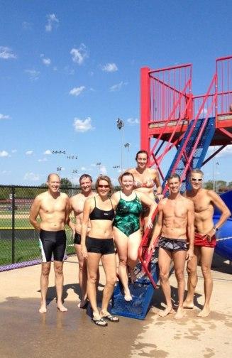 2012 Labor Day Swim in Bentonville