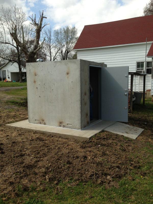 Concrete Safe Rooms Gallery  Arkansas Storm Shelters