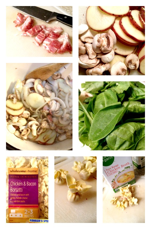 Feel Good Soup Ingredients Collage