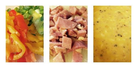 omelette ingredients