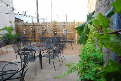 Food in Argenta - Crush Wine Bar patio