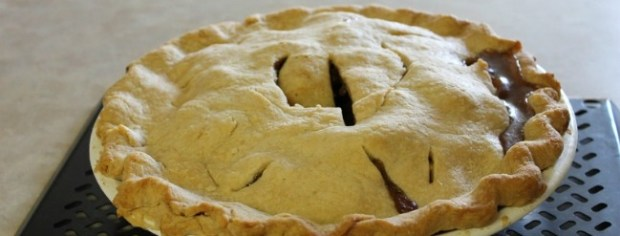Polly's Apple Pie via Katharine Trauger of Home's Cool