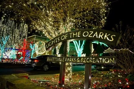 Lights of the Ozarks  A 20 year old Fayetteville Holiday