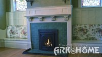 Gas fireplace showroom in Victoria, BC