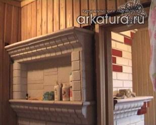Банная печь из глазурованного кирпича