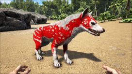 ark console commands Hyaenodon_PaintRegion0