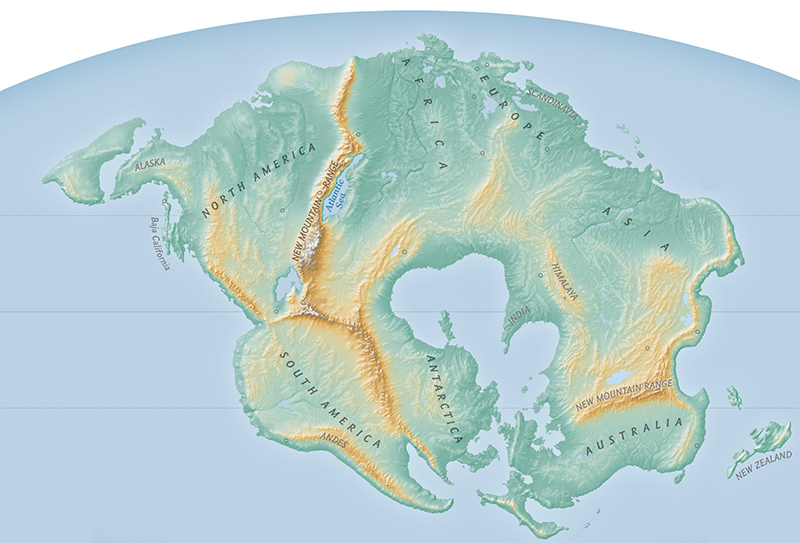 A New Supercontinent 250 Million Years From Now Arketyp