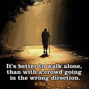 walk-alone-in-the-right direction