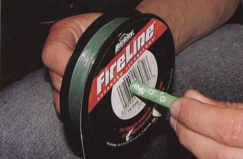 One Hand Fishing Line Do Not Reel To Reel