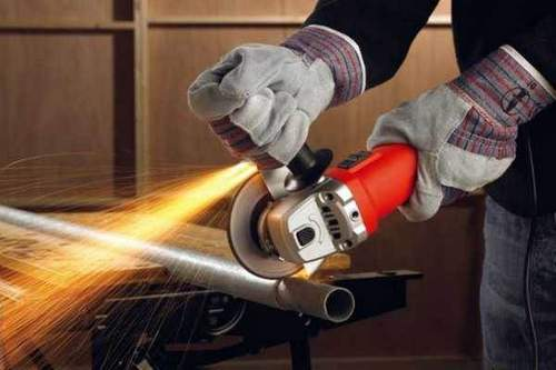 Respirator For Working With Angle Grinder