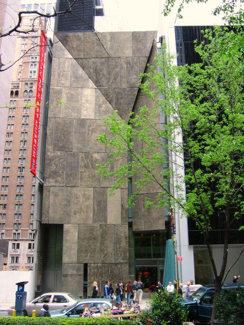 American Folk Art Museum street facade