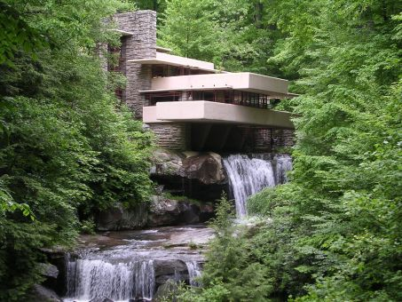 Fallingwater, Pennsylvania by Frank Lloyd Wright
