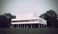 Villa Savoye, Poissy by Le Corbusier