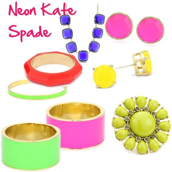 Neon Kate Spade