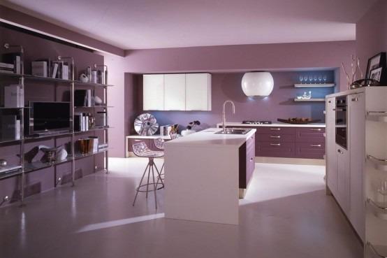 Inspiraciones color violeta para diseo de interiores