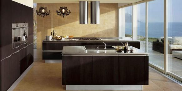 Cocinas color marron  Arkihome