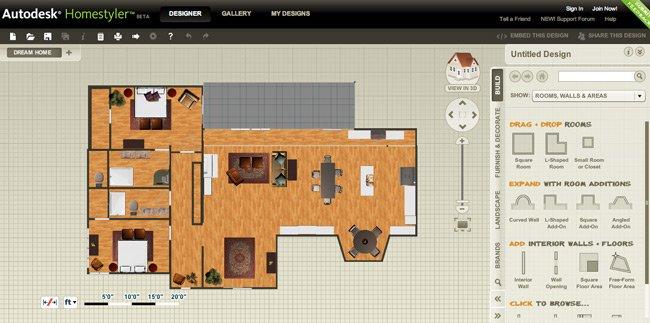 10 programas de diseo de interiores gratis  Arkihome