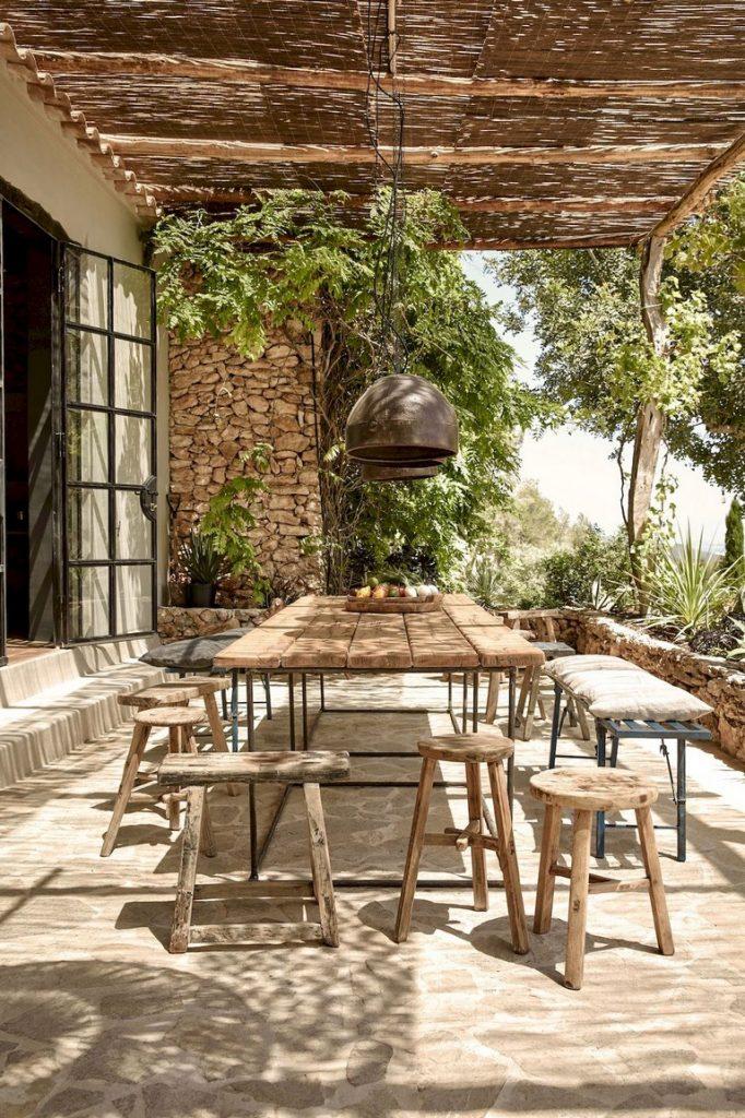 ideas de mesas para patio arkihome