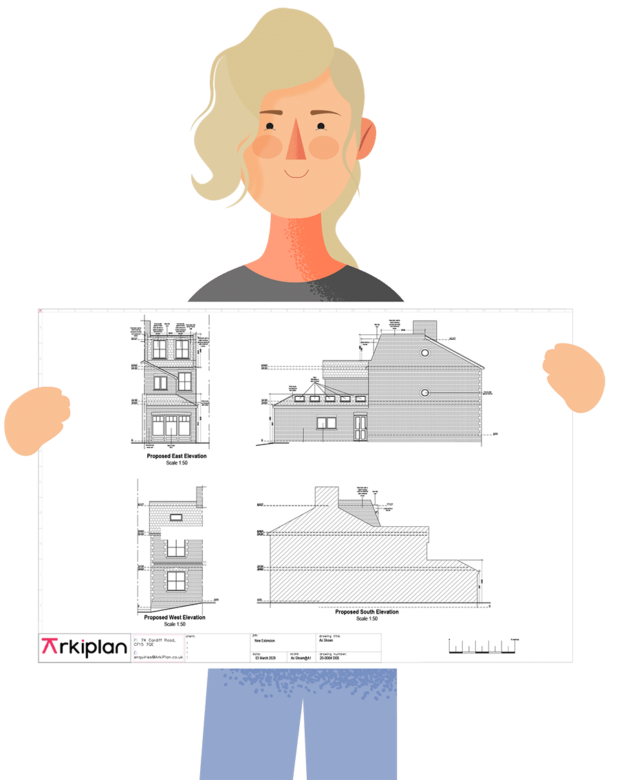 Online loft conversion planning drawings