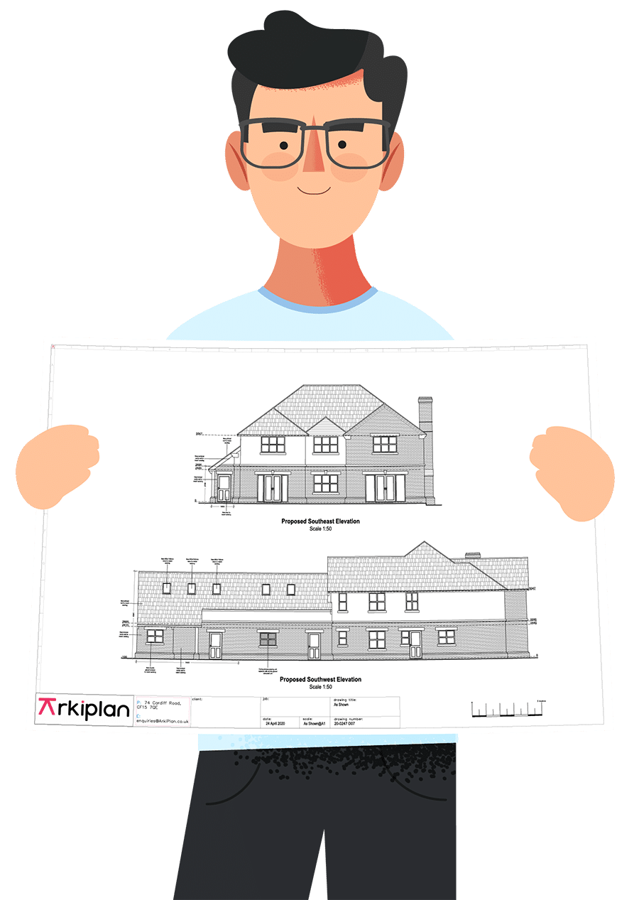 Online building planning drawings