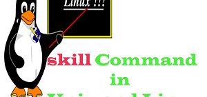 skill command in Unix and Linux