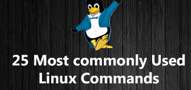 25 most commonly used linux command
