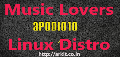apodio Linux for Music Lovers Installation Guide
