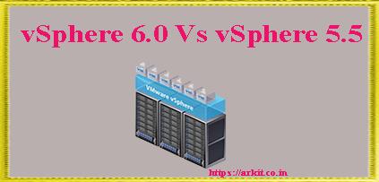 vSphere 5 Vs vSphere 6