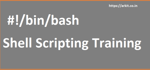 Shell Scripting Training Hyderabad - Online Training Course Content