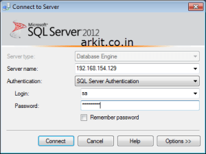 Accessing MSSQL Server from Windows client