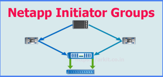 How to add host initiator in Netapp Storage to map Luns