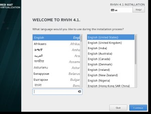 system language selection