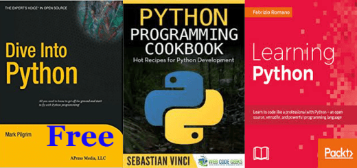 3 Python Programming Books Completely Free of Cost Just Download