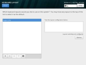Keyboard Language Selection