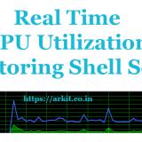 Shell Script to Check CPU Utilization