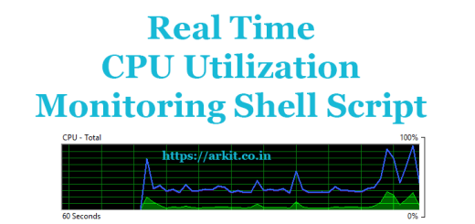 Shell Script to Check CPU Utilization