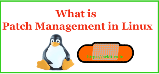 What is patch Management
