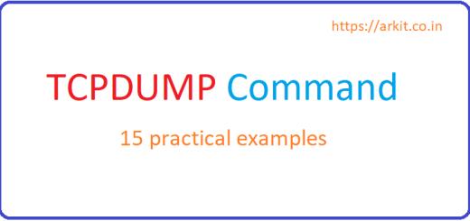 15 tcpdump command examples