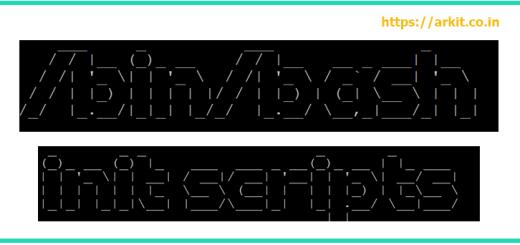 init scripts initscripts initscript