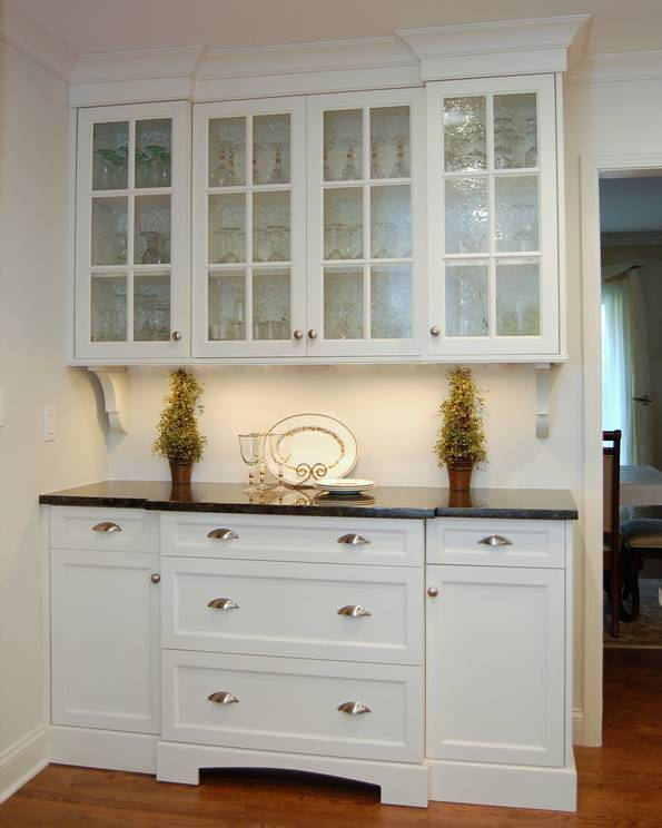 White Kitchen Buffet Hutch Car Interior Design